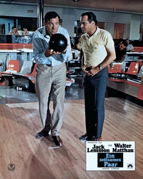 Постер к к/ф «Странная парочка» 1967 г.