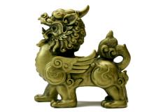 Зеленый дракон - одно из четырех священных животных