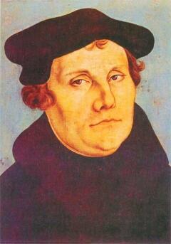 Лукас Кранах Старший. Прижизненный портрет Мартина Лютера