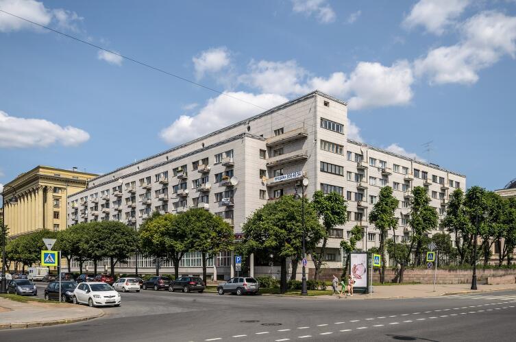 Дом-коммуна Общества бывших политкаторжан и ссыльнопоселенцев в Санкт-Петербурге