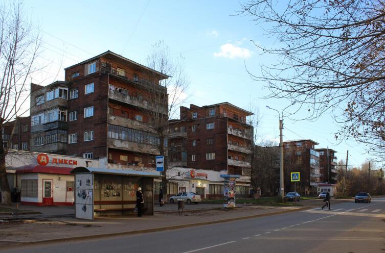 «Дом коллектива» 400-квартирный жилой дом в 2015 г.