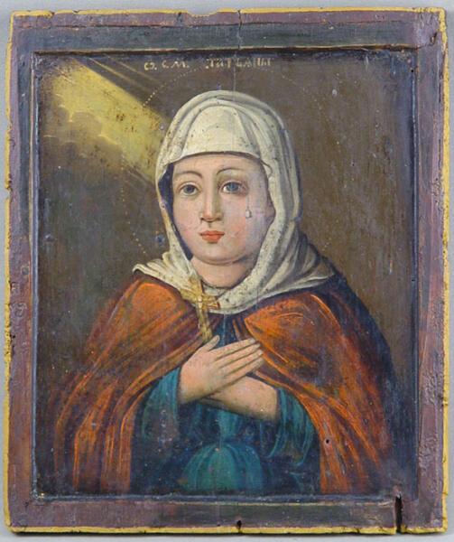 Икона «Святая Мученица Татьяна», XIX в.