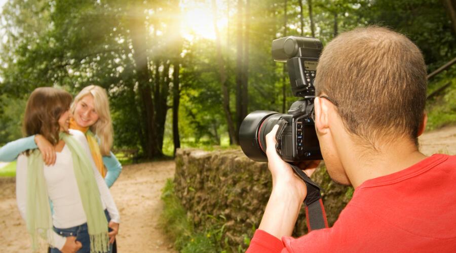 Где сделать интересную фотосессию?