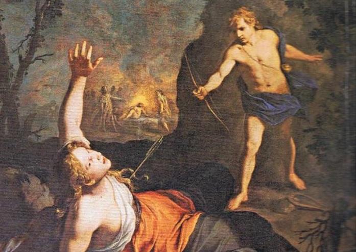Джорджо Вазари, «Аполлон и Коронида» (фрагмент)