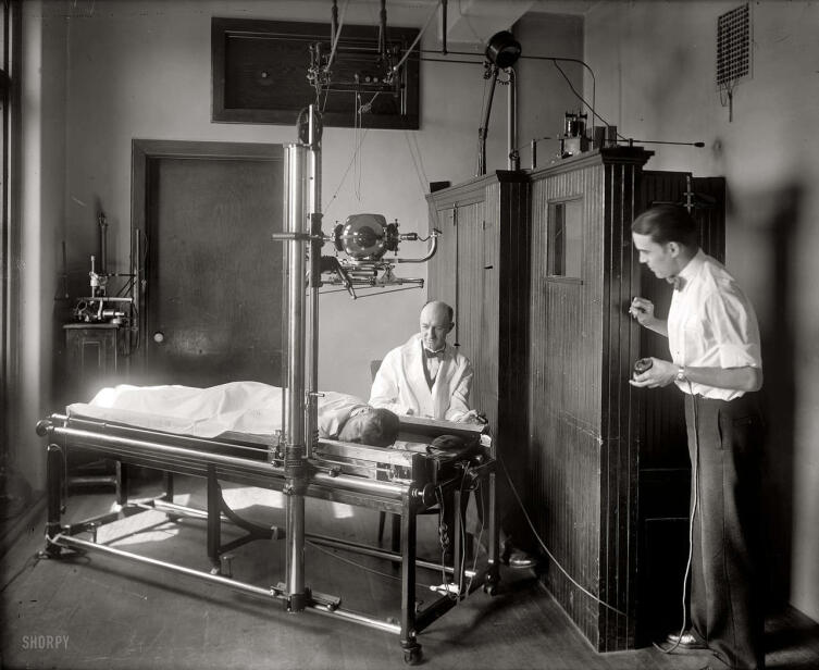 Рентгеновский аппарат. ХХ век