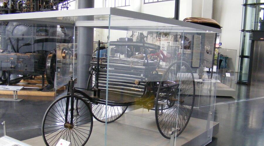 Самый первый автомобиль Бенца в Немецком музее