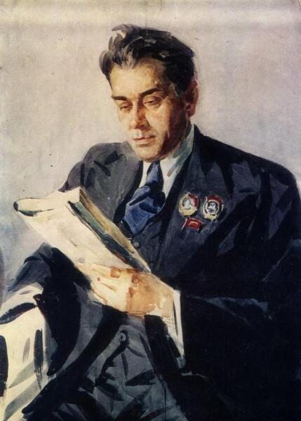 А. Шовкуненко, «Портрет поэта П. Г. Тычины», 1949 г.