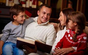 Чему научить детей однажды зимним вечером?