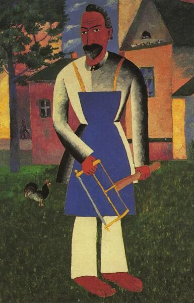 К. С. Малевич, «Дачник», 1927 г.