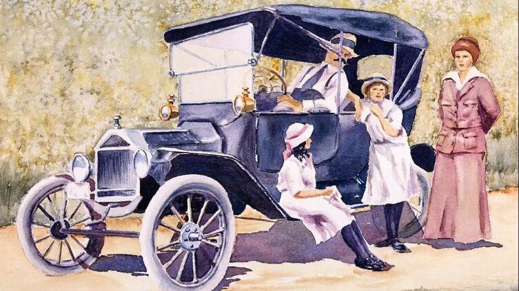 Морин Джонсон, «Папин первый автомобиль»