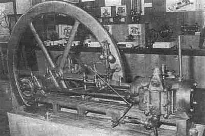 Двигатель Ленуара в музее искусств и ремёсел. Париж