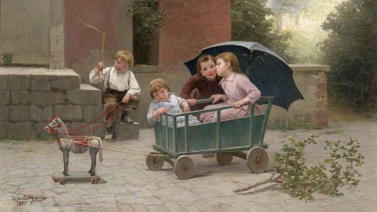 Шарль Бертран д'Антрэг, «Маленький тягач», 1888 г.<br />