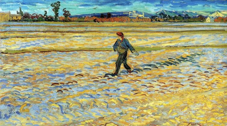 Винсент Ван Гог, «Сеятель», 1888 г.