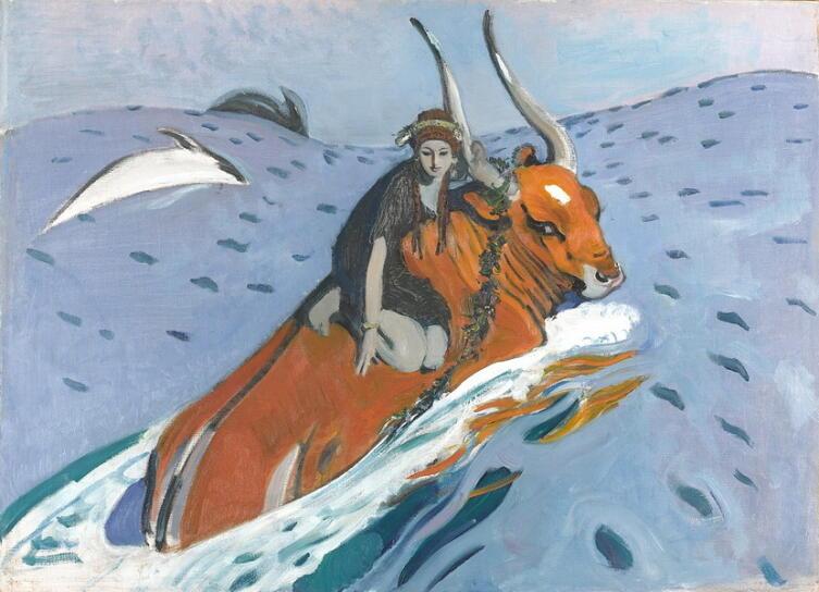 В. А. Серов, «Похищение Европы», 1910 г.