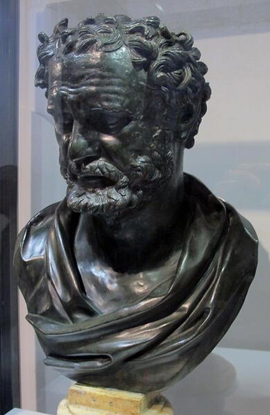 Неизвестный скульптор. Бюст Гераклита, III век н. э.