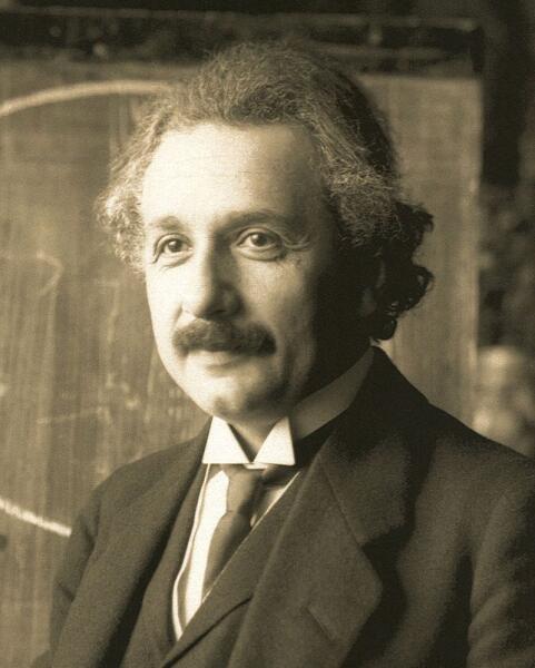 Альберт Эйнштейн. 1921 г.
