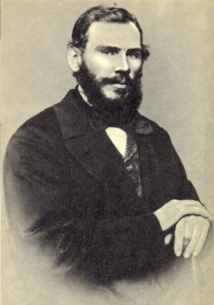 Л. Н. Толстой. 1862 г.