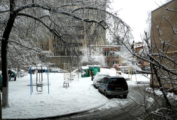 Дом 21 по ул Куцыгина, г.Воронеж, февраль 2021г.