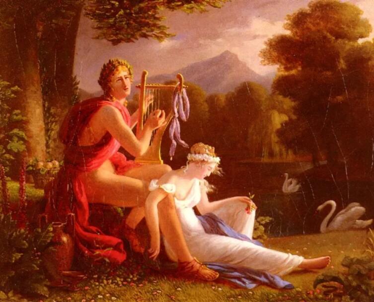 Луи Дукис, «Орфей и Эвридика»