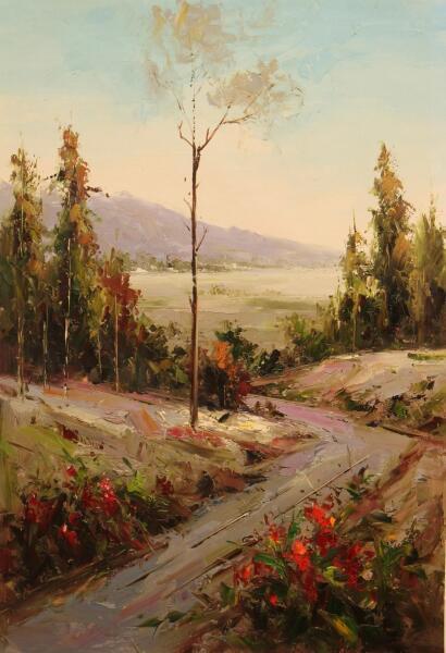Андрей Шарабарин, «У одинокой осины», 2012 г.