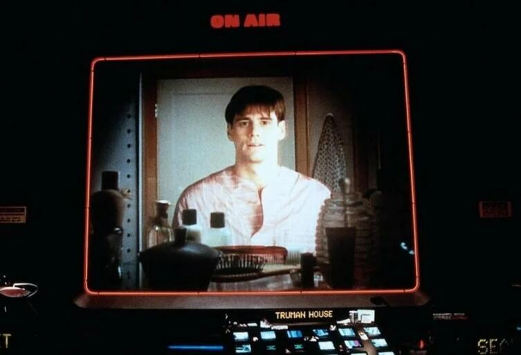 Кадр из к/ф «Шоу Трумана», 1998 г.