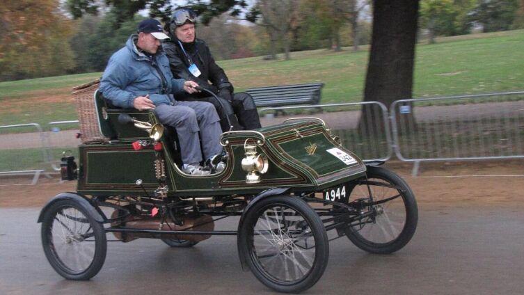 Паровой автомобиль Stanley 1904 г. в 2014 г.