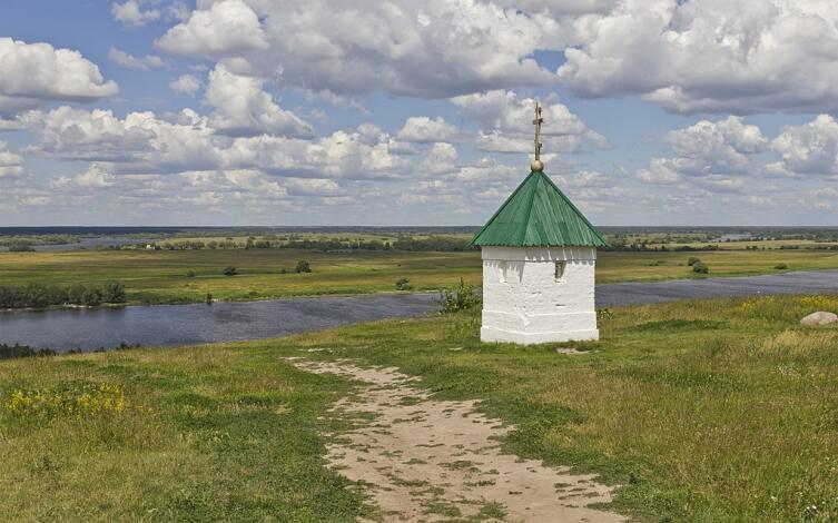 С. Константиново, вид на Оку