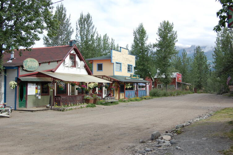Город Мак-Карти. Аляска. США