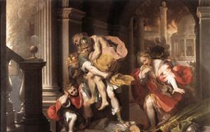 Как царь Аний потерял своих детей?