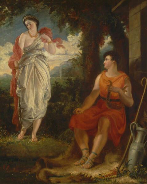 Бенджамин Роберт Хейдон, «Венера и Анхиз», 1826 г.