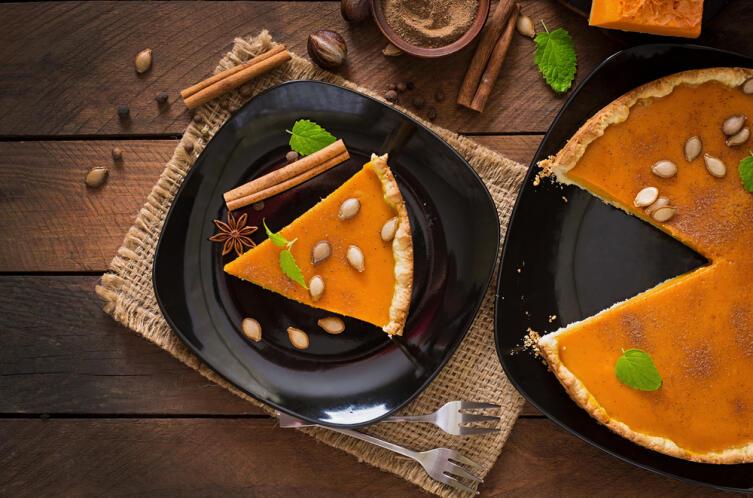 Как приготовить тыквенный пирог?