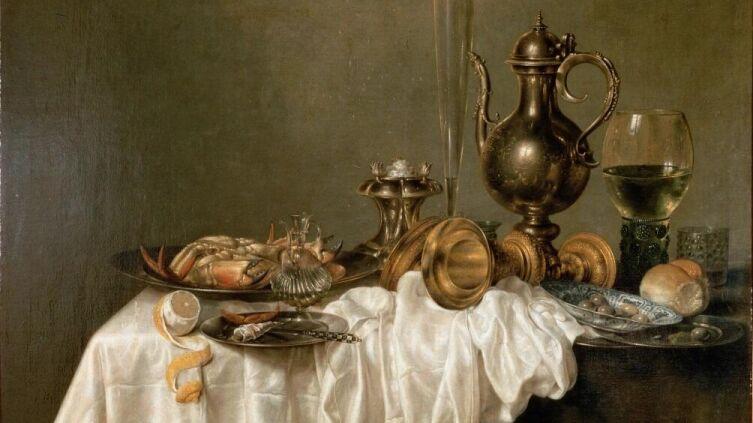 Виллем Клас Хеда, «Завтрак с крабом», 1648 г.