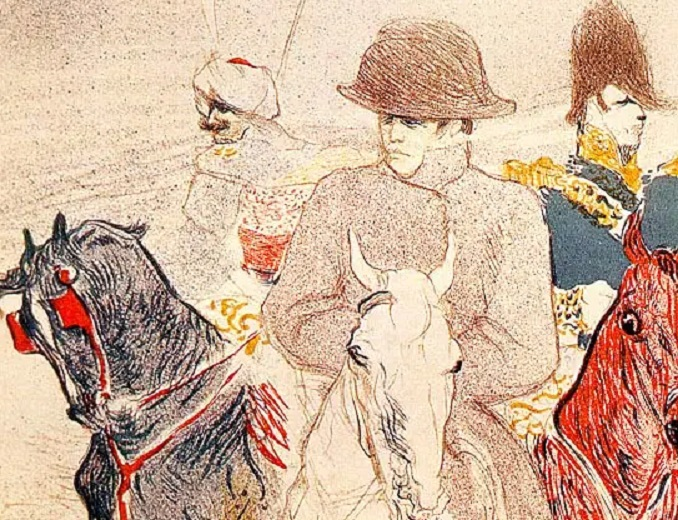 Анри де Тулуз-Лотрек, «Наполеон Бонапарт» (фрагмент), 1895 г.