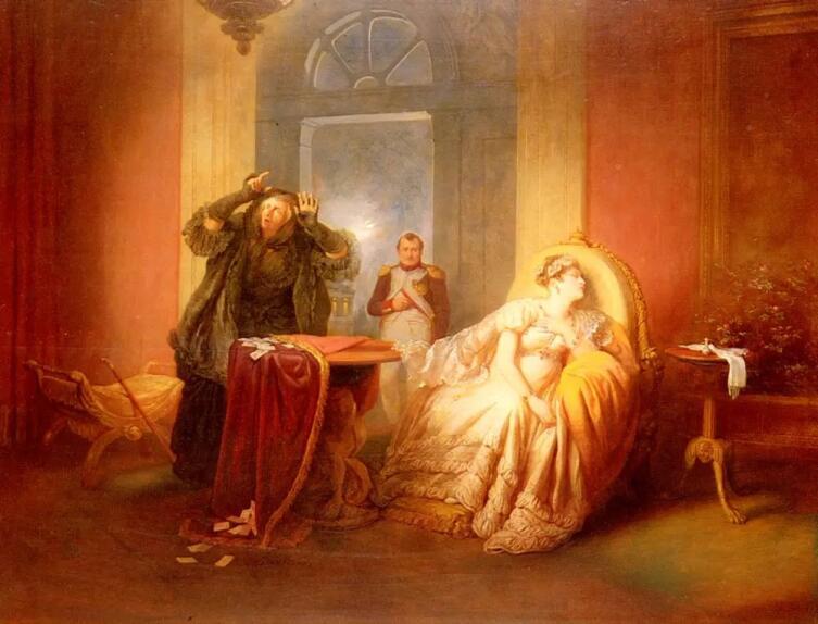 Йозеф Данхаусер, «Наполеон и Жозефина»