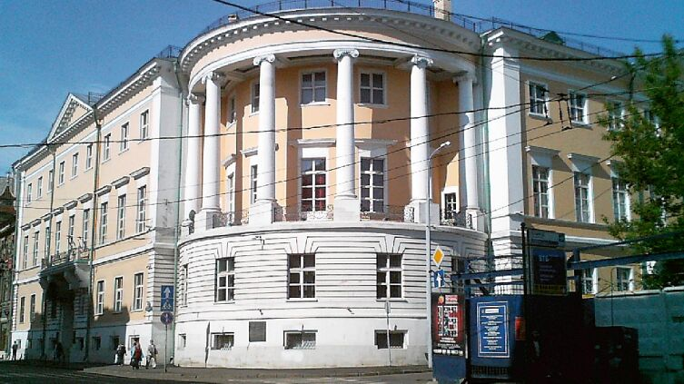 Бывшее здание ВХУТЕМАС, ныне РАЖВиЗ, Москва, ул. Мясницкая, 21б