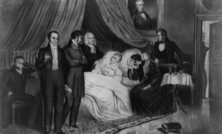 Смерть президента Уильяма Гаррисона
