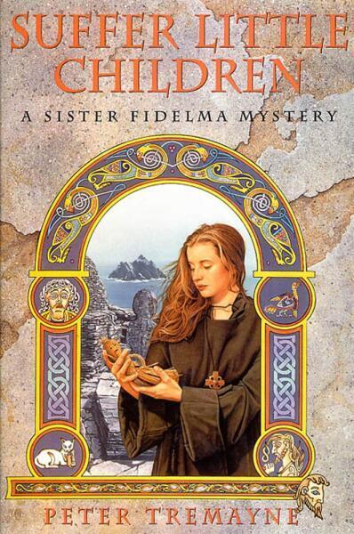 Фидельма на обложке английского издания