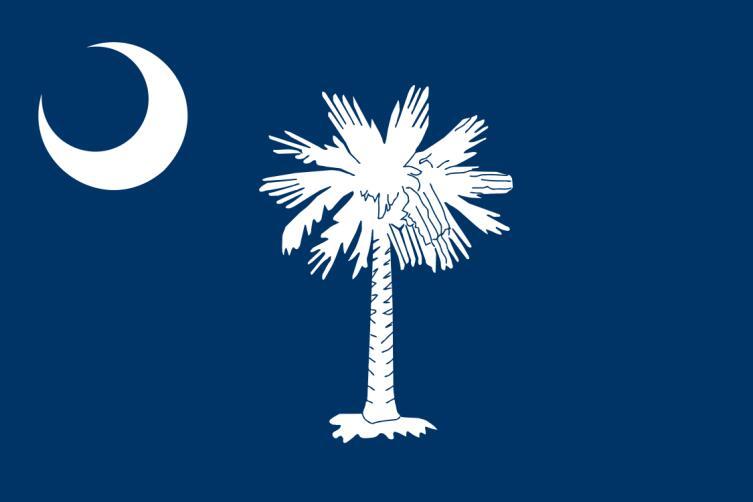 Флаг Южной Каролины