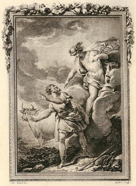 Антуан -Жан Дюкло, «Гермес поражает Батта тем, что вернул себе обычный вид»