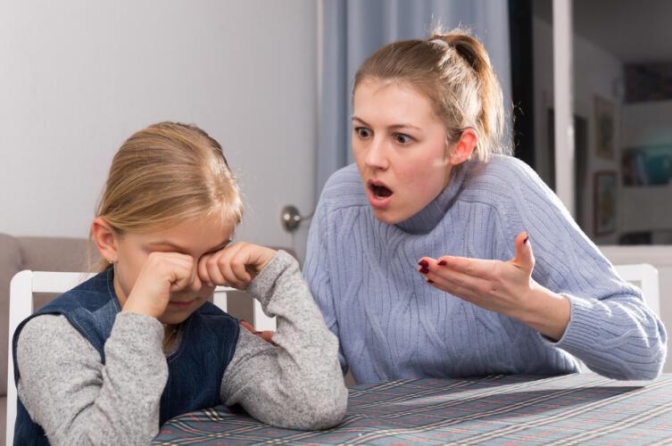 Постоянная критика подрывает веру ребенка в свои возможности
