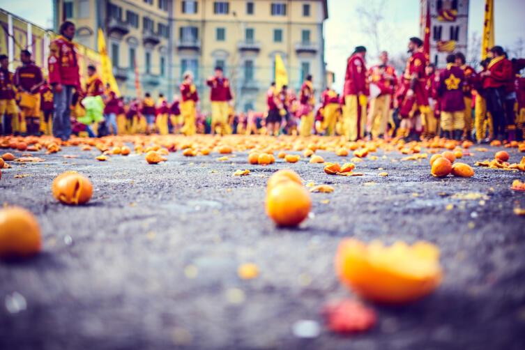 Битва апельсинов в