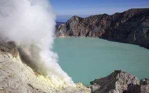 Индонезия. Чем необычен вулкан Иджен?