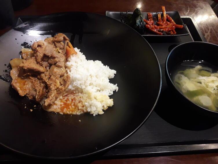 Тот самый мой первый корейский завтрак