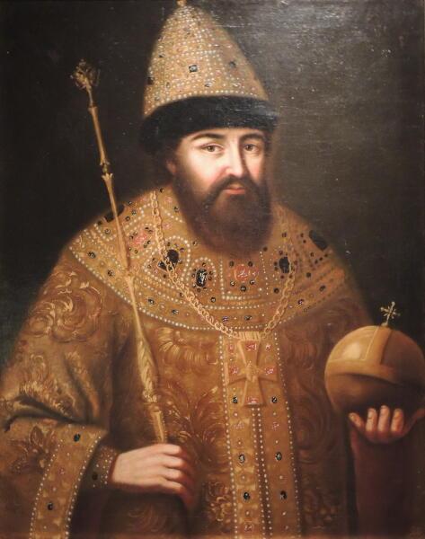 Портрет царя Алексея Михайловича. Неизвестный русский художник второй половины XVII века