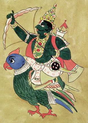 Бог любви и чувственного влечения Кама
