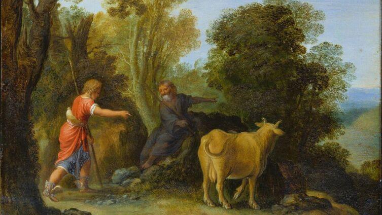 Адам Эльсхаймер, «Меркурий и Батт», 1676 г.