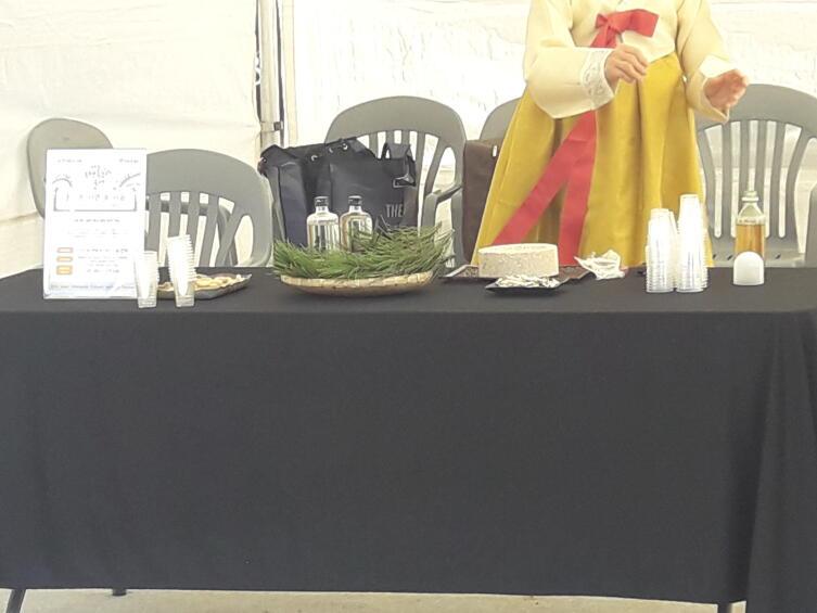Столики с соджу