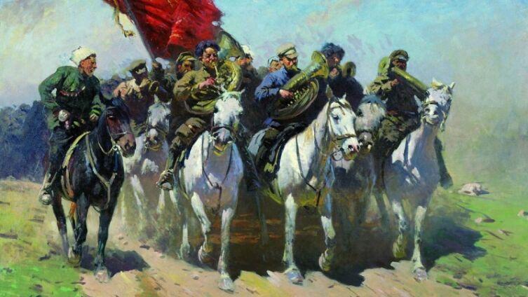 М. Б. Греков, «Трубачи Первой Конной армии», 1934 г.