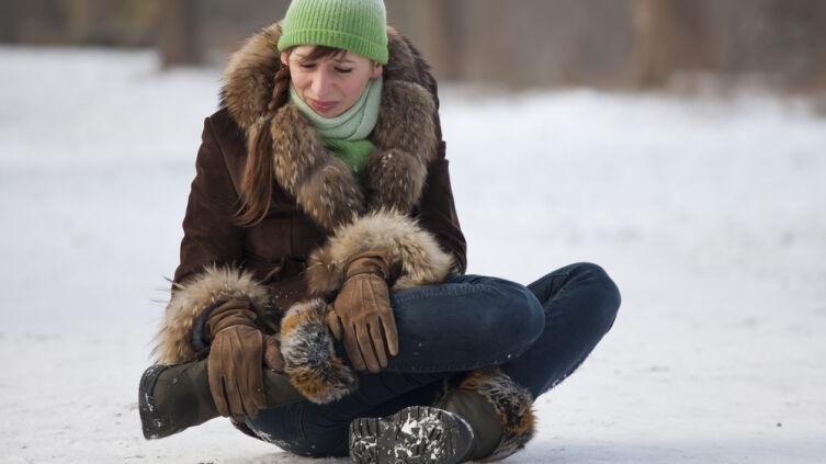 Как сделать так, чтобы ботинки не скользили на льду?