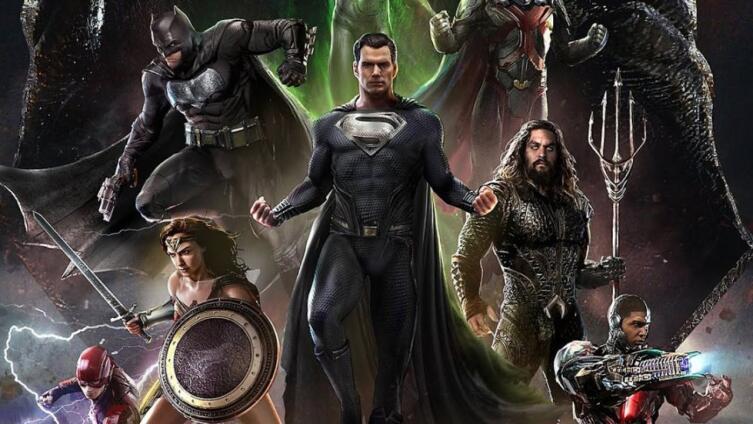 Постер к сериалу «Лига справедливости Зака Снайдера»